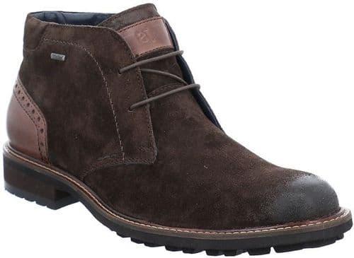 Josef Seibel Jasper 51 Lace Mens Shoes Dark Brown / Moro Kombi